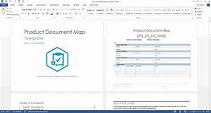 Product document map template ms word for Microsoft technical documents