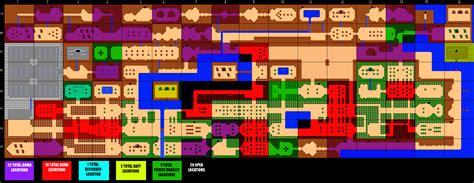 overworld map zelda anys