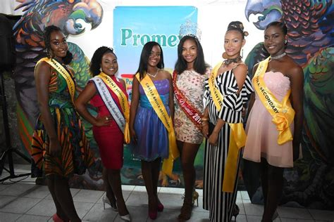 Miss Teen Dominica Contestants Kairi Fm