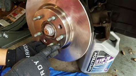 repair anti lock braking 2010 ford fusion transmission control 2010 ford fusion front brake and rotor replacement or change mercery milan youtube
