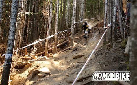 Photo of the Day: Downhill Racing at Whistler
