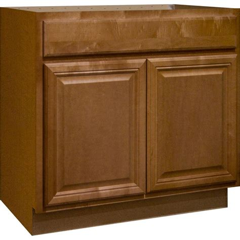 kitchen cabinets sink base hton bay cambria assembled 36x34 5x24 in sink base 6384