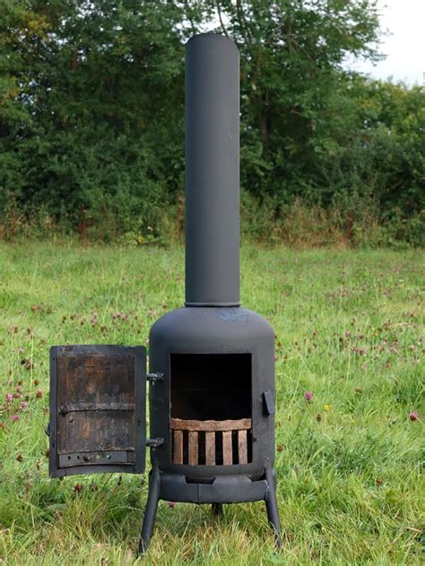 chiminea diy 1000 images about gas bottle chiminea patio heater on
