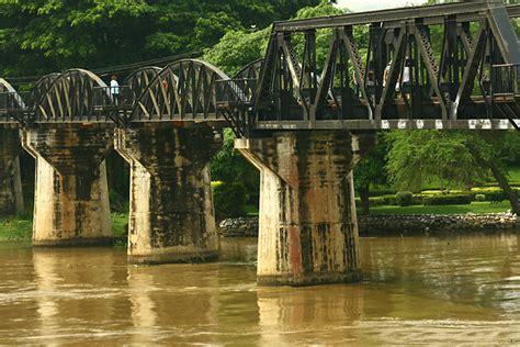 bridge kwai river thailand war ww2 elephant riding tour hua hin daytrip
