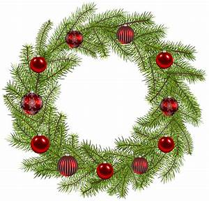 Merry Christmas Wreath Clip Art Pictures to Pin on ...