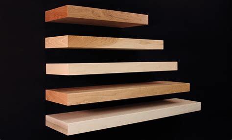 floating shelf maple