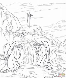 Jesus Tomb Coloring Coloring Pages
