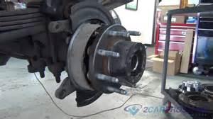 Rear Axle Bearing, Seal, E-Brake shoes, Brake Pads & Rotor