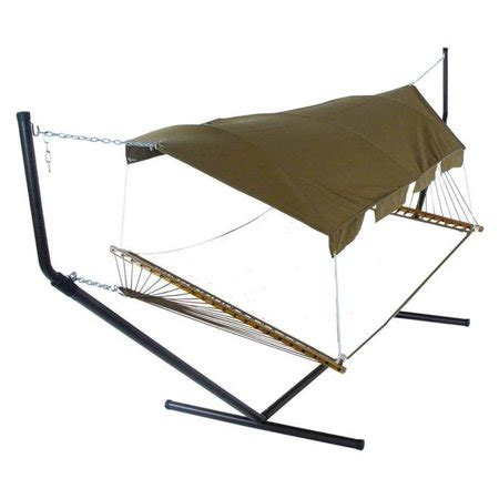 Hammock Extension by Bronze Fabric Hammock Canopy W Hardware Extension Poles