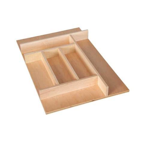 kitchen cupboard storage inserts century components silverware tray insert 13 7 8 inch wide 4354