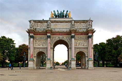 arc de triomphe du carrousel paris civic arts project