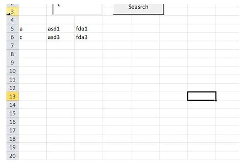 search box in excel download