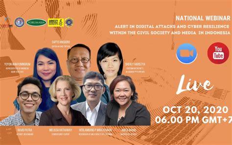 Daftar online bkk ypia cakung 2020 Webinar Nasional: Siaga dalam Serangan Digital dan Ketahanan Siber dalam Masyarakat Sipil dan ...