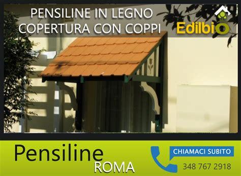 Tettoie In Legno Roma by Pensiline In Legno Roma Copertura In Coppi Edilbio It