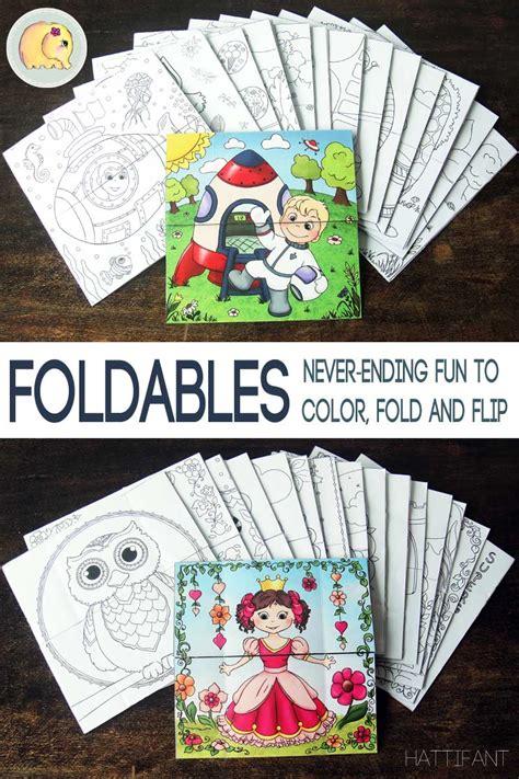 foldables   fun  color fold  flip