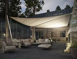 Voile Pour Terrasse : protection solaire 55 id es pour la terrasse ext rieur ~ Premium-room.com Idées de Décoration