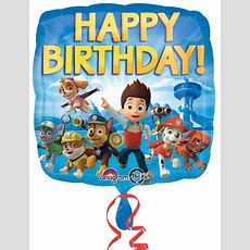 Paw Patrol Happy Birthday Foil Balloon Birthdayexpressm