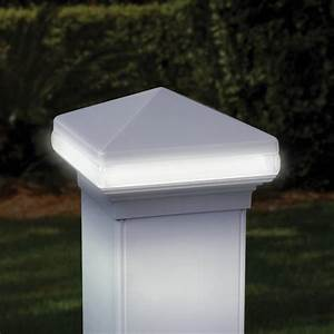 deck post lights turn simple outdoor spaces into With 110 volt outdoor deck lighting
