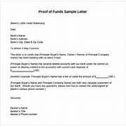 Proof Of Funds Letter 7 Download Free Documents In PDF Sample Bank Reference Letters Starting Business Bank Teller Cover Letter Sample Resume Genius Letter To Bank Manager Best Template Collection