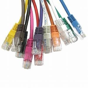 Rj45 Ethernet Network Cable Cat5e Lead 100  Pure Copper