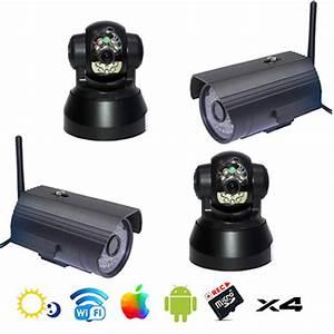 Camera De Surveillance Maison : surveillance maison cam ra wifi int rieure ext rieure ~ Dode.kayakingforconservation.com Idées de Décoration