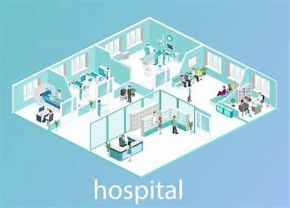 Building Clinic Medical Hospital Clip Pharmacy Interior