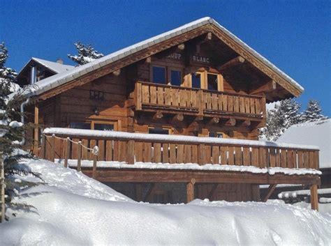location chalet de luxe chalet 4 pied des pistes la joue du loup 6899 chalet montagne