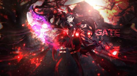 Gate Anime Wallpaper - gate wallpaper by redeye27 on deviantart