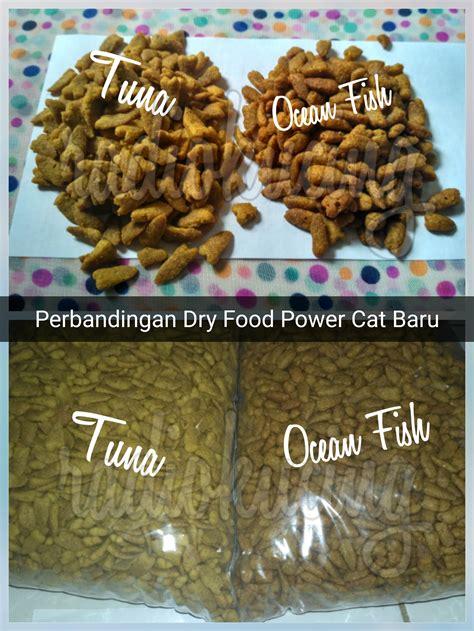review makanan kucing kering dry food power cat kemasan