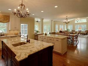 open concept kitchen and living room open kitchen into With kitchen and living room design ideas