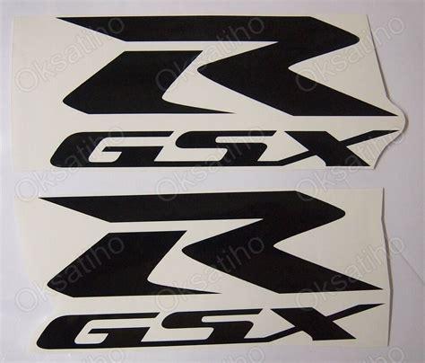 Suzuki Motorcycle Decals by Suzuki Gsxr Fairing Decals Stickers 600 750 1000 1100 Tank