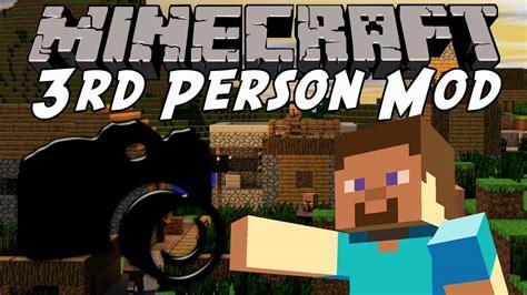 Minecraft In 3rd Person  Minecraft Shoulder Surfing Mod