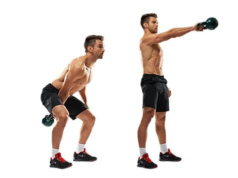 kettlebell swing arm workout stability single exercises kettlebells clean improve strength doing should completo two handed example mountain farmer walk