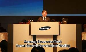 Samsung Electronics' 44th Annual General Shareholders ...