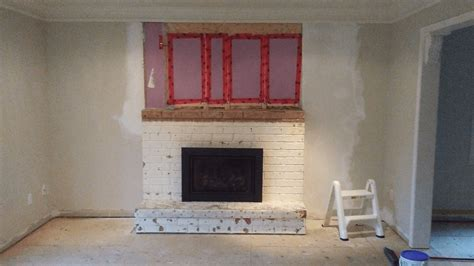 Fireplace Mantel Family Room Reno My Road To Wealth