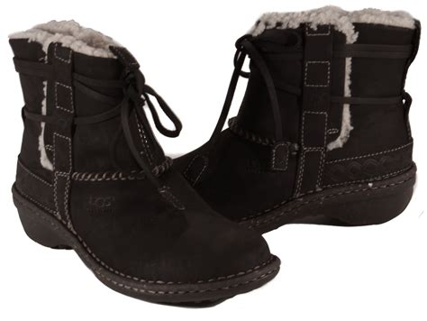 Ankle Boots : Ugg Cove Toast Or Black Fashion Weather Ankle Boots Womens
