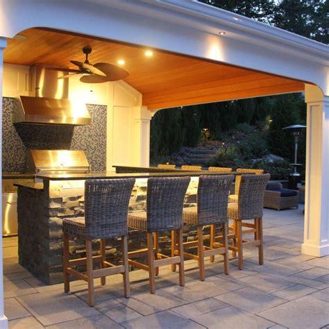 custom pool housecabana  outdoor kitchen