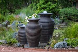 Fire, U0026, Water, Urns, The, Perfect, Water, Feature, Addition
