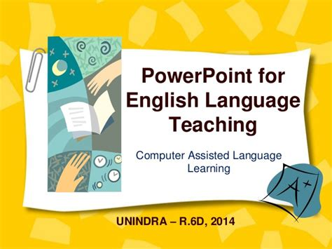 Power Point For English Language Teaching
