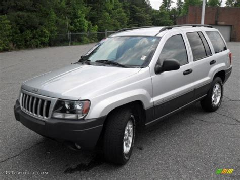 silver jeep grand cherokee 2004 2004 bright silver metallic jeep grand cherokee laredo