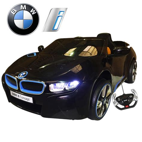 Limited Edition Black Official Bmw I8 Series 12v Car With
