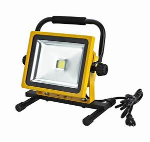 Watt led flood light lf alert stamping