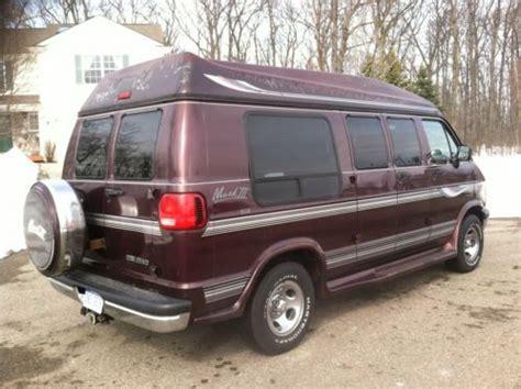 Buy Used 1996 Dodge Ram 2500 Conversion Van Hightop W