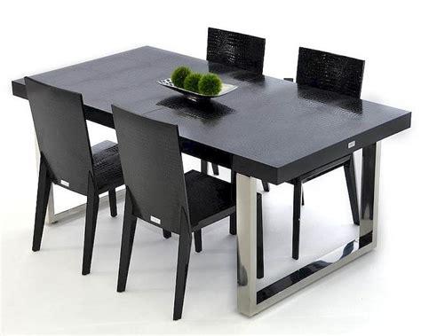 Black Dining Set by Modern Black Dining Set 44dac803 255bset