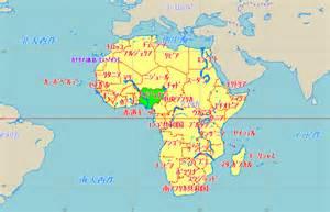 ナイジェリア:ナイジェリア地図