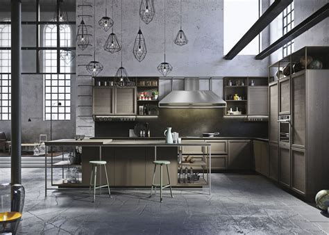 industrial design kitchen frame snaidero 1835