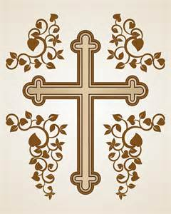 Traditional Catholic Cross Drawing