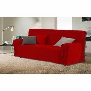 housse de canape 3 places avec accoudoirs achat vente With tapis moderne avec housse elastique canapé