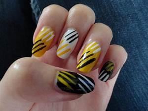 Amazing Nail Art Designs Cool Yellow Acrylic Nail Design Ideas