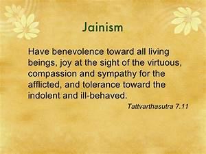 Compassion Quot... Jainism Scripture Quotes